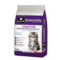 Premium croquettes for kittens – Abundant in chicken (3 kg)