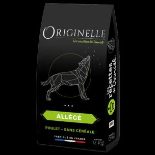 Croquettes Originelle allégées sans céréales pour chien (12 kg)