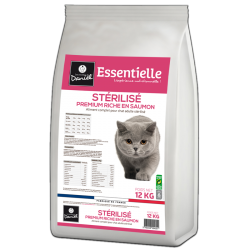 Premium croquettes for cats – Abundant in salmon (3 kg)