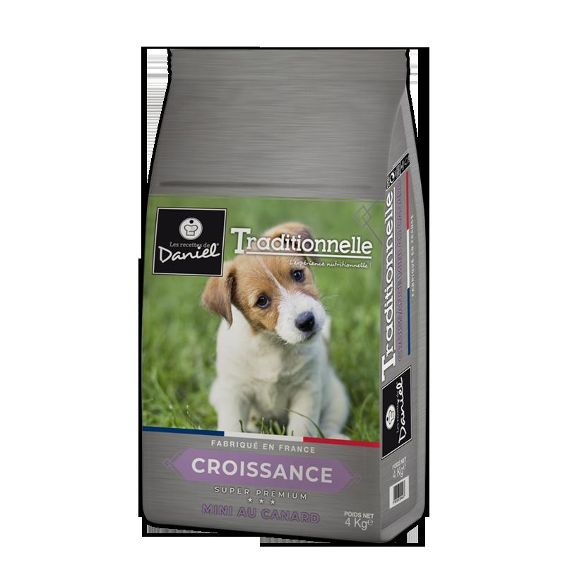 Super premium for puppies – Les recettes de Daniel small breeds – Duck (4kg)
