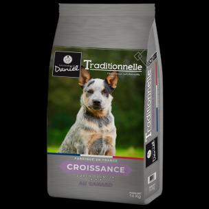 Croquettes TRADITIONNELLE Croissance au canard (14 kg)