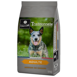 Croquettes TRADITIONNELLE Medium adulte au canard 14 KG