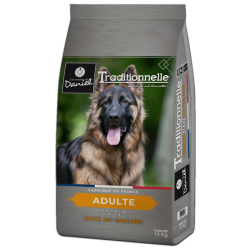 "Super-premium food for large breed dogs – ""Les recettes de Daniel – Duck (14kg)"