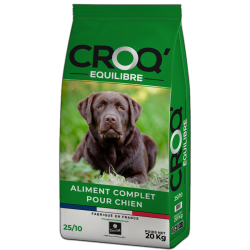 Dog n' Croc Balance 25/10 for adult dogs (20 kg)