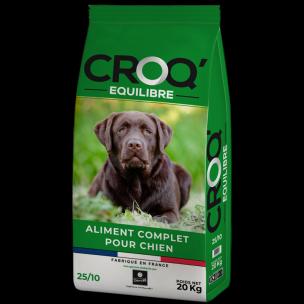 Croquettes chien CROQ'EQUILIBRE (20 kg)