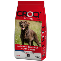 Dog n' Croc Active 28/14 for adult dogs (20 kg)