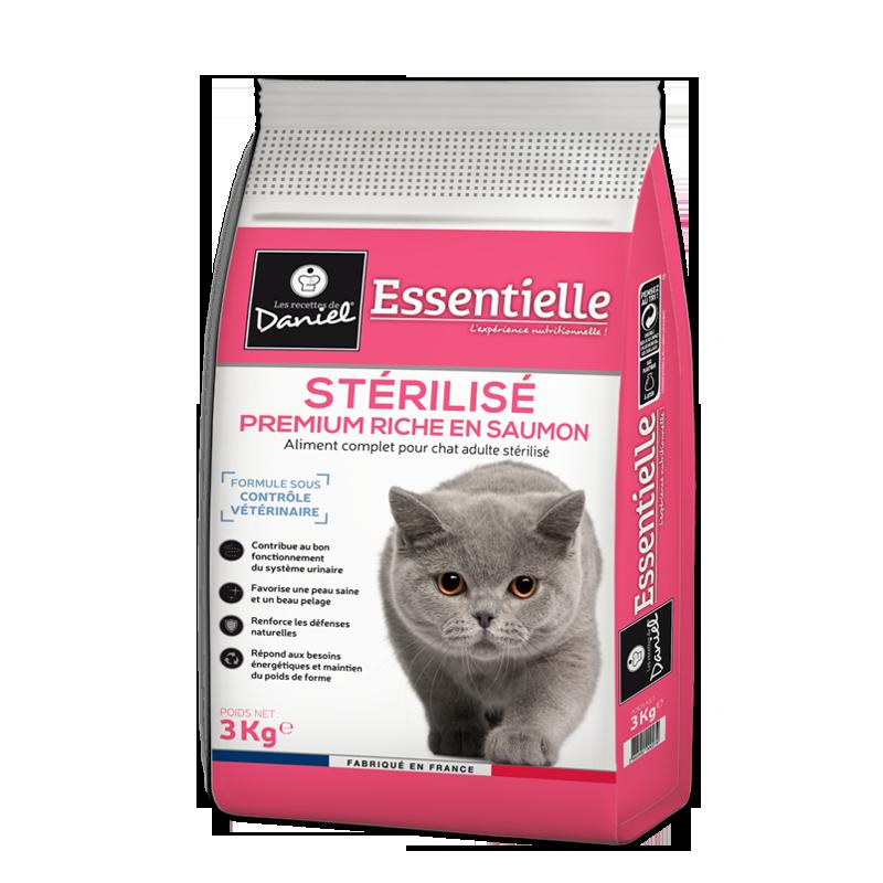 Premium croquettes for cats – Abundant in salmon (3 kg)
