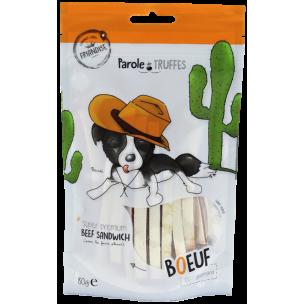 """Sandwich de Bœuf (80G) - Friandises """"Parole de Truffes"""""""