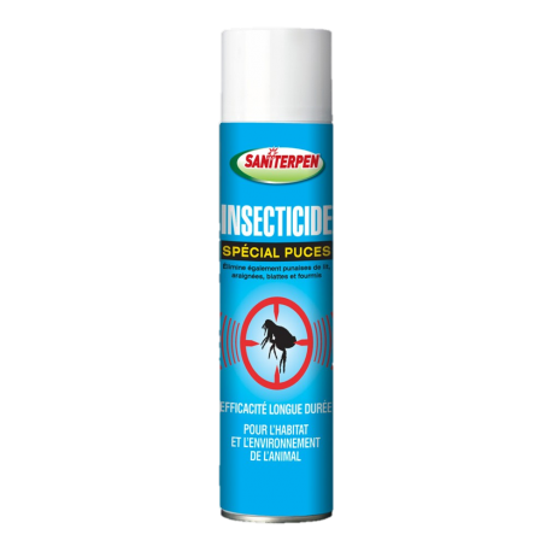 Saniterpen Insecticide Spécial Puces - 400 ml