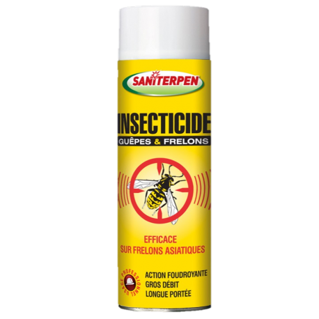 Saniterpen Insecticide Guêpes & Frelons - 600 ml
