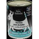 "Terrine de porc et lotte 400G - Humide ""Petite balade"""