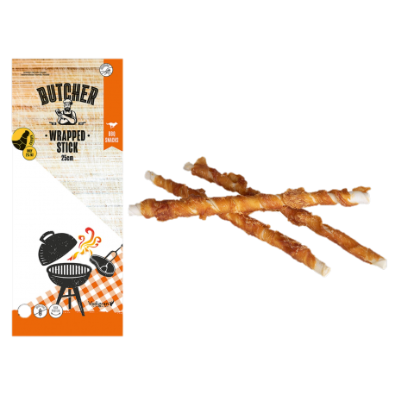 Chicken Wrapped Stick 25cm 144g