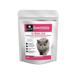 Essentielle chat sterilise saumon 400g