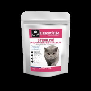Essentielle chat sterilise riche en saumon - 400 g