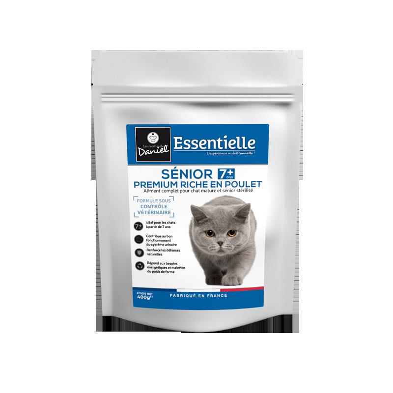 Essentielle chat senior sterilise 7+ 400g