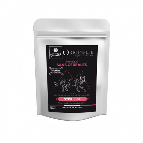 Originelle chat sterilise saumon sans céréales - 400g