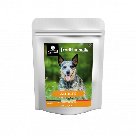 Traditionnelle adulte canard - 400g