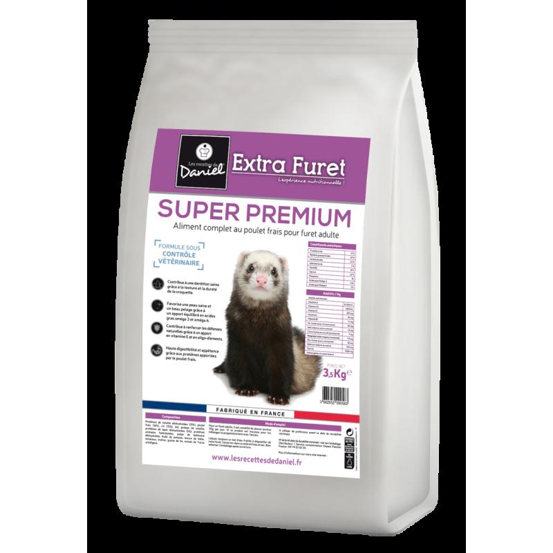 Croquettes Extra furet super premium (sac de 3,5kg)