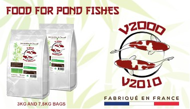 Food for pond fishes